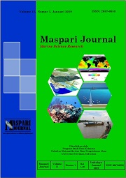 Maspari Journal : Marine Science Research Vol 11, No 1 (2019): Edisi Januari