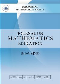 Journal on Mathematics Education (JME)