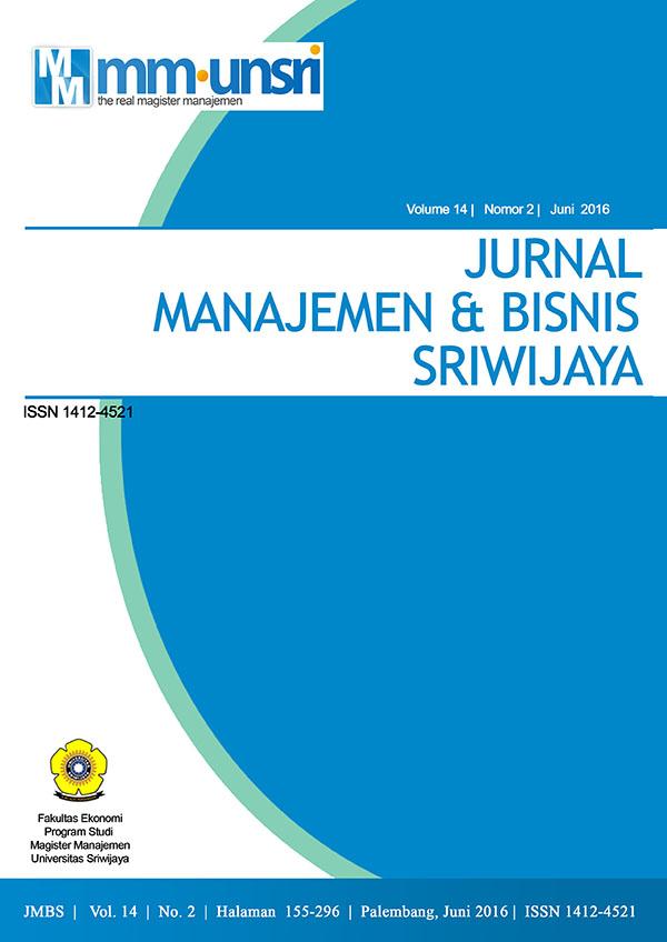 JMBS Vol.14 No.2 Juni 2016